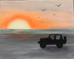 The image for Love of Jeep!-New Painting- In Store, In Person CLASS