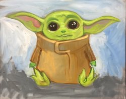 The image for Baby Yoda- He is back!