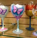 The image for Paint on Wine Glasses!